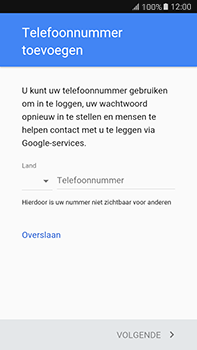 Samsung Galaxy J7 (2016) (J710) - Applicaties - Account aanmaken - Stap 15