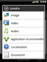 HTC A3333 Wildfire - E-mail - envoyer un e-mail - Étape 9