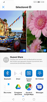 Huawei Mate 20 lite - Photos, vidéos, musique - Envoyer une photo via Bluetooth - Étape 9