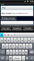 Sony Ericsson Xperia Neo - E-mail - Hoe te versturen - Stap 5