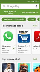 Samsung Galaxy S7 Edge - Aplicações - Como pesquisar e instalar aplicações -  4
