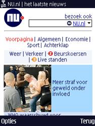 Nokia N86 - Internet - Hoe te internetten - Stap 14