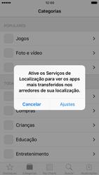 Apple iPhone iOS 10 - Aplicativos - Como baixar aplicativos - Etapa 4