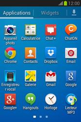 Samsung S6790 Galaxy Fame Lite - Internet - navigation sur Internet - Étape 2