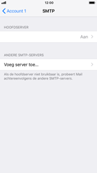 Apple iPhone 8 - iOS 12 - E-mail - Account instellen (POP3 zonder SMTP-verificatie) - Stap 17
