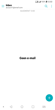 LG Q7 - E-mail - Account instellen (IMAP zonder SMTP-verificatie) - Stap 5