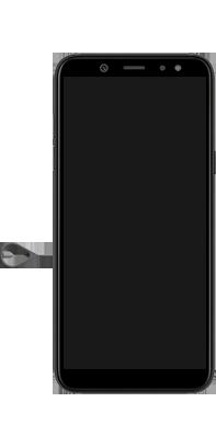 Samsung Galaxy A6 - Premiers pas - Insérer la carte SIM - Étape 2