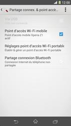 Sony Xpéria Z1 - Internet et connexion - Partager votre connexion en Wi-Fi - Étape 14