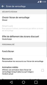 LG G4 - Sécuriser votre mobile - Activer le code de verrouillage - Étape 6