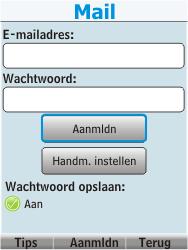 Nokia 206 Dual Sim - E-mail - Handmatig instellen - Stap 17