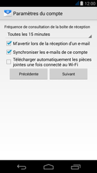Acer Liquid Jade - E-mail - Configuration manuelle - Étape 16