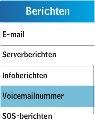 Samsung C3300K - Voicemail - Handmatig instellen - Stap 5