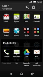 HTC Desire 320 - Voicemail - Handmatig instellen - Stap 4