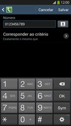 Samsung I9500 Galaxy S IV - Chamadas - Como bloquear chamadas de um número específico - Etapa 12