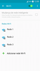 Samsung Galaxy A5 - Wi-Fi - Como ligar a uma rede Wi-Fi -  6