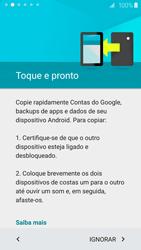 Samsung Galaxy S6 - Primeiros passos - Como ativar seu aparelho - Etapa 7