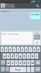 LG Optimus F5 - Contact, Appels, SMS/MMS - Envoyer un SMS - Étape 10