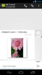 Acer Liquid E1 - Mms - Sending a picture message - Step 16