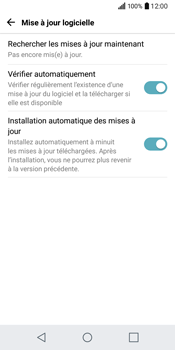 LG Q6 - Réseau - Installation de mises à jour - Étape 9