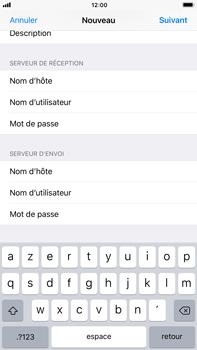 Apple iPhone 6 Plus - iOS 11 - E-mail - Configuration manuelle - Étape 14