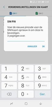 Samsung Galaxy A8 (2018) (SM-A530F) - Beveiliging en ouderlijk toezicht - Hoe wijzig ik mijn SIM PIN-code - Stap 11