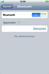 Apple iPhone 3G - Bluetooth - headset, carkit verbinding - Stap 8
