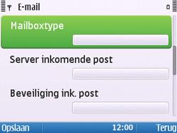 Nokia E5-00 - E-mail - handmatig instellen - Stap 15