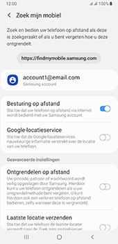 Samsung galaxy-a7-dual-sim-sm-a750fn-android-pie - Beveiliging en ouderlijk toezicht - Zoek mijn mobiel inschakelen - Stap 7