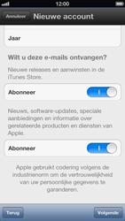 Apple iPhone 5 - Applicaties - Account aanmaken - Stap 11