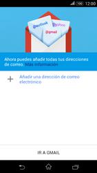 Sony Xperia E4g - E-mail - Configurar Gmail - Paso 5