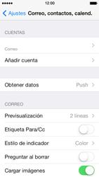 Apple iPhone 5s - E-mail - Configurar correo electrónico - Paso 25