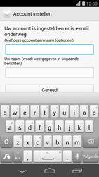 Huawei Ascend P7 - E-mail - e-mail instellen (outlook) - Stap 9