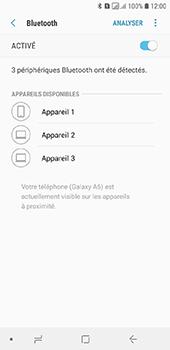 Samsung Galaxy A6 - Internet et connexion - Connexion avec un équipement multimédia via Bluetooth - Étape 8