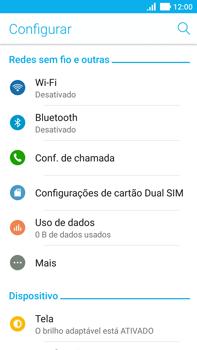 Asus Zenfone 3 - Wi-Fi - Como configurar uma rede wi fi - Etapa 4