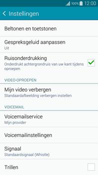 Samsung Galaxy Note 4 4G (SM-N910F) - Voicemail - Handmatig instellen - Stap 7