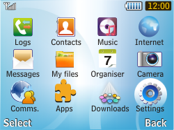 Samsung S3350 Chat 335 - Internet - Manual configuration - Step 3