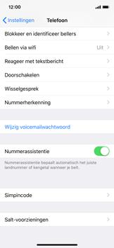 Apple iPhone X - Beveiliging en ouderlijk toezicht - Hoe wijzig ik mijn SIM PIN-code - Stap 4