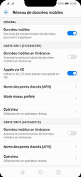 Huawei Mate 20 Lite - Internet - Désactiver les données mobiles - Étape 5