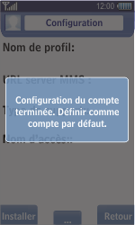 Samsung S8500 Wave - MMS - Configuration automatique - Étape 7