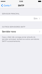 Apple iPhone 5s iOS 9 - Email - Configurar a conta de Email -  20