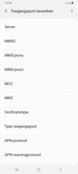 Samsung Galaxy A70 - Internet - handmatig instellen - Stap 15