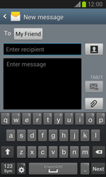 Samsung I8260 Galaxy Core - Mms - Sending a picture message - Step 8