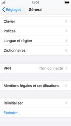 Apple iPhone SE - iOS 13 - Appareil - Restauration d