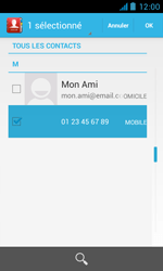 Bouygues Telecom Bs 402 - Contact, Appels, SMS/MMS - Envoyer un SMS - Étape 7