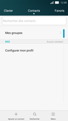 Huawei Y5 - Contact, Appels, SMS/MMS - Ajouter un contact - Étape 3