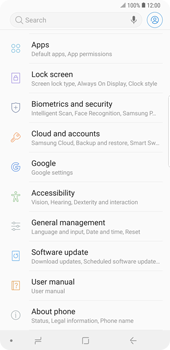 Samsung Galaxy Note9 - Device - Reset to factory settings - Step 5
