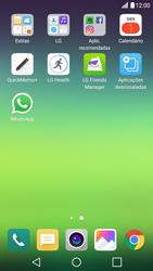 LG G5 - Aplicações - Como configurar o WhatsApp -  4