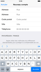 Apple iPhone 6 - Applications - Créer un compte - Étape 22