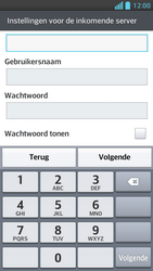 LG P875 Optimus F5 - E-mail - handmatig instellen - Stap 10