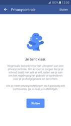 Samsung Galaxy S7 - Privacy - Privacy instellingen van Facebook aanpassen - Stap 19